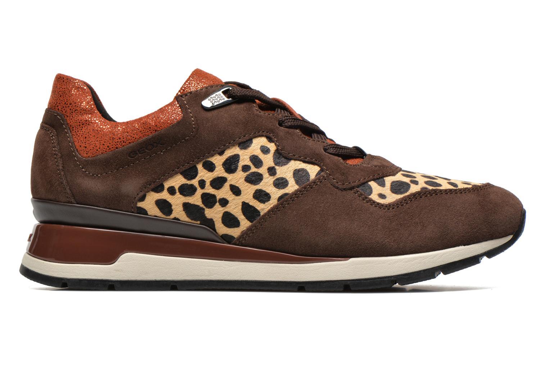 Sneakers Geox D SHAHIRA A D44N1A Bruin achterkant