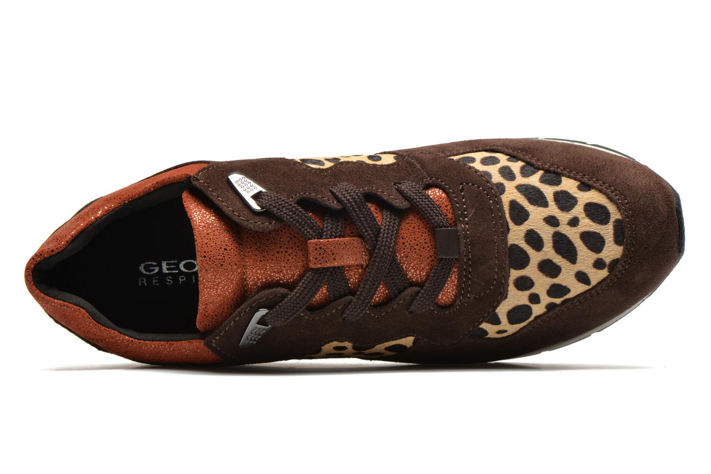 Sneakers Geox D SHAHIRA A D44N1A Bruin links