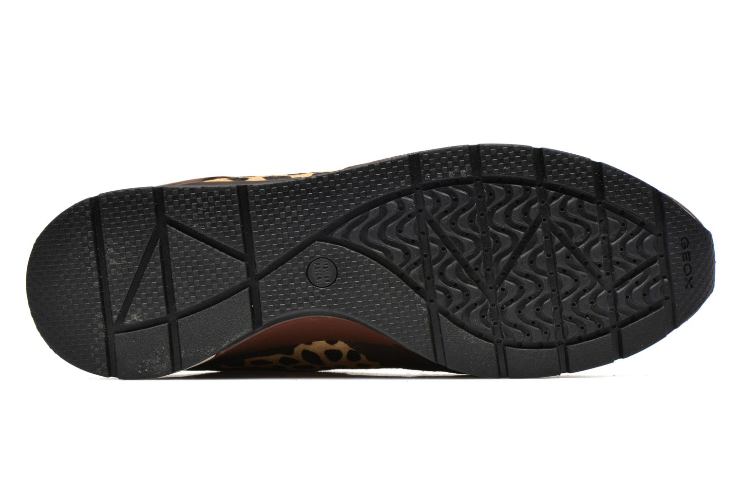 Sneakers Geox D SHAHIRA A D44N1A Bruin boven