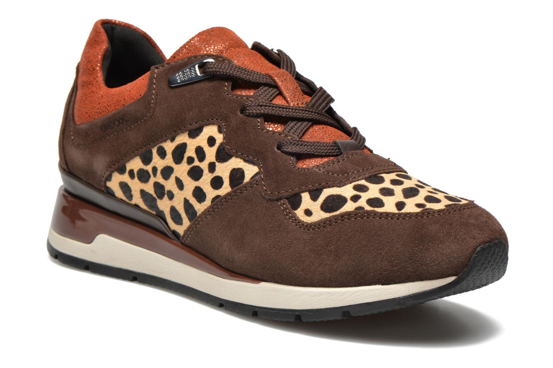Sneakers Geox D SHAHIRA A D44N1A Bruin detail