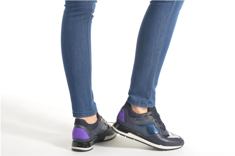 Sneaker Geox D SHAHIRA A D44N1A schwarz ansicht von unten / tasche getragen