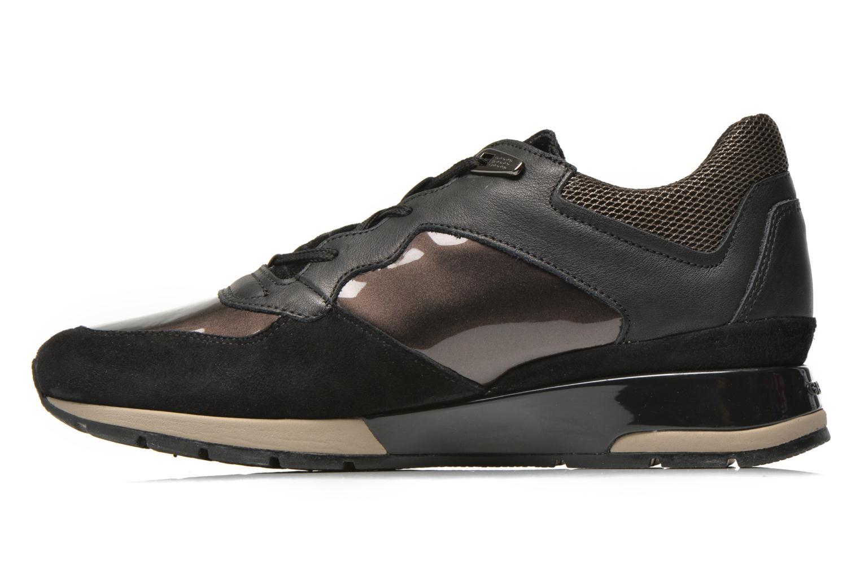 Sneaker Geox D SHAHIRA A D44N1A schwarz ansicht von vorne
