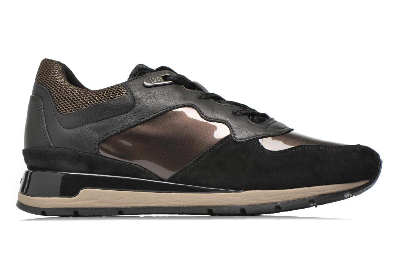 Sneaker Geox D SHAHIRA A D44N1A schwarz ansicht von hinten