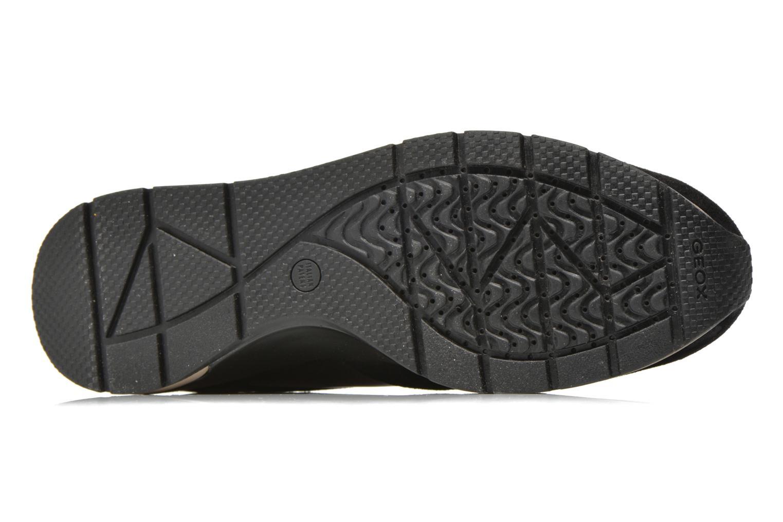 Sneaker Geox D SHAHIRA A D44N1A schwarz ansicht von oben