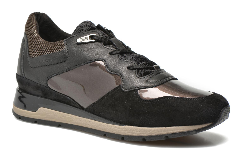 Sneaker Geox D SHAHIRA A D44N1A schwarz detaillierte ansicht/modell