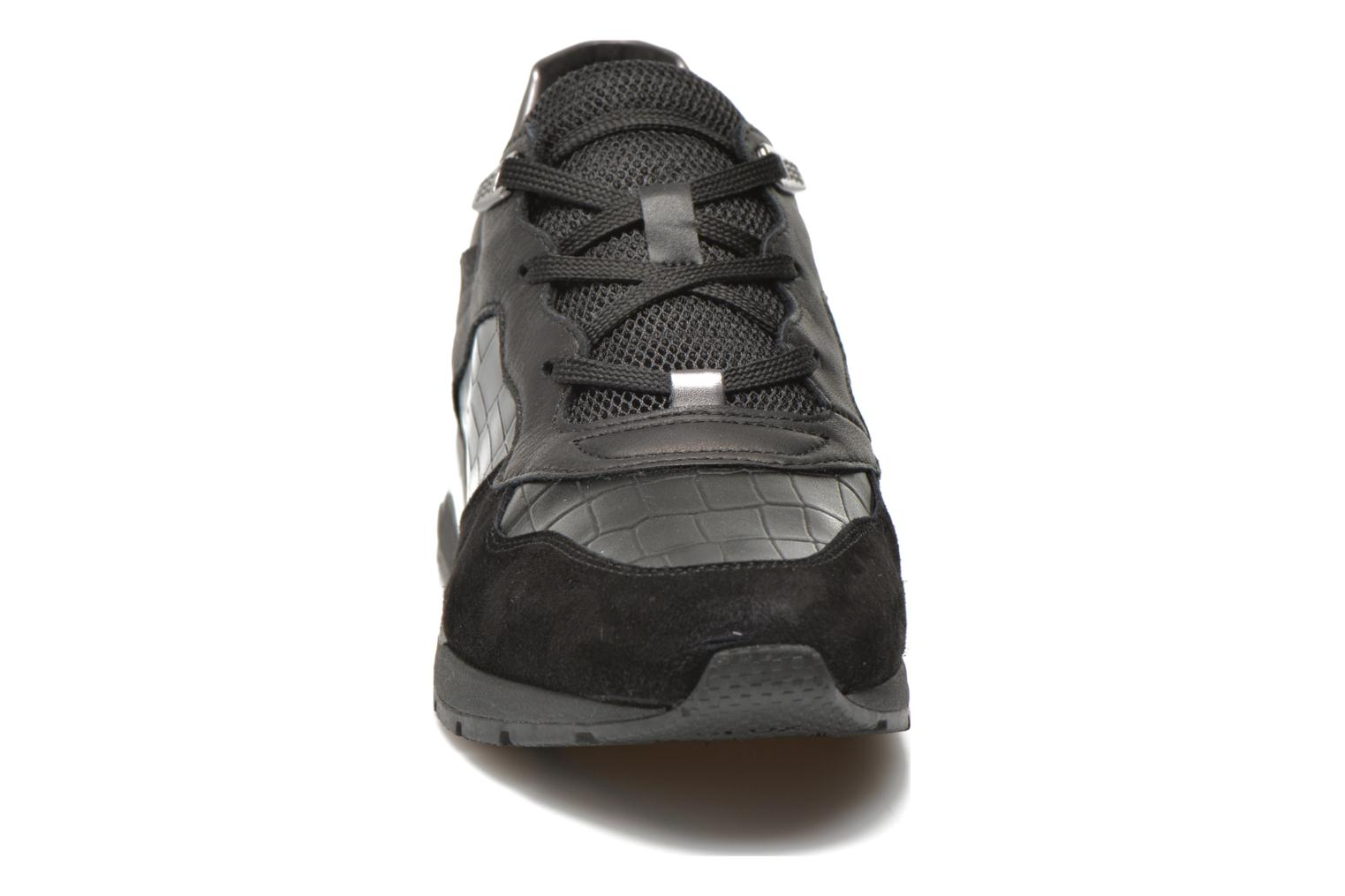 Trainers Geox D SHAHIRA A D44N1A Black model view
