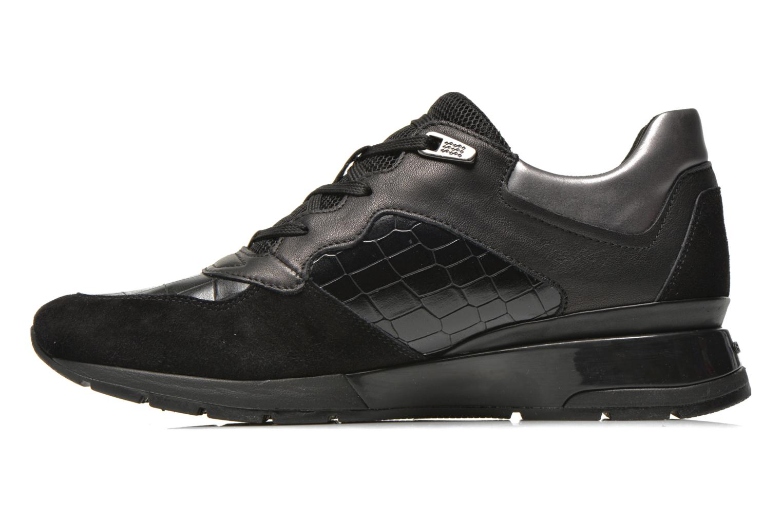 Sneakers Geox D SHAHIRA A D44N1A Sort se forfra