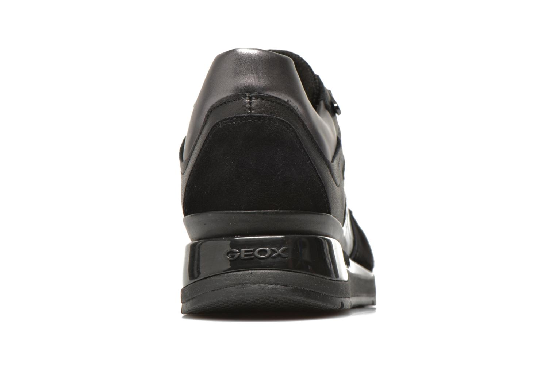 Sneakers Geox D SHAHIRA A D44N1A Sort Se fra højre