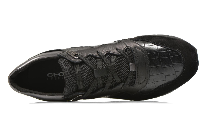 Sneakers Geox D SHAHIRA A D44N1A Svart bild från vänster sidan
