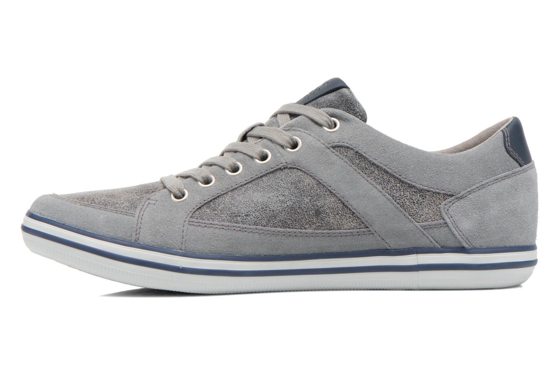 Sneakers Geox U BOX D U44R3D Grijs voorkant