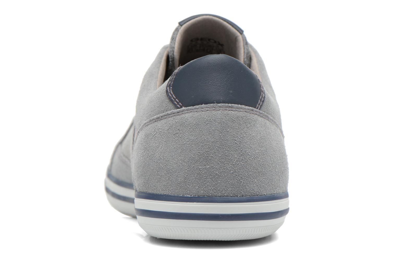 Sneakers Geox U BOX D U44R3D Grijs rechts
