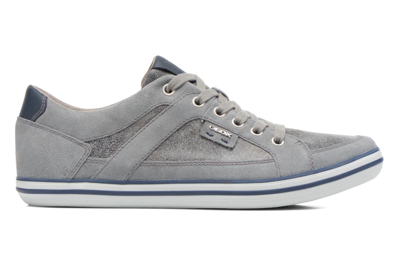 Sneakers Geox U BOX D U44R3D Grijs achterkant