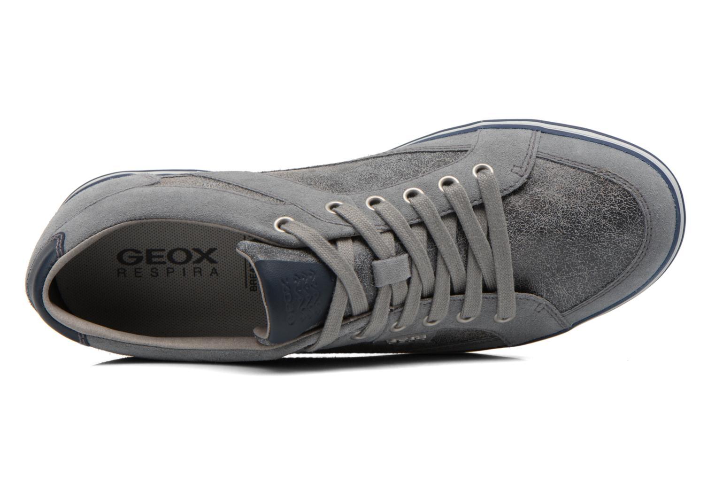 Sneakers Geox U BOX D U44R3D Grijs links