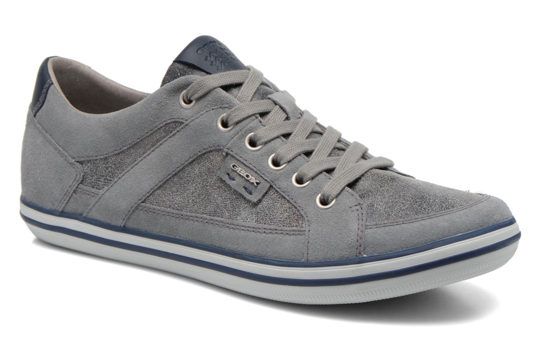 Sneakers Geox U BOX D U44R3D Grijs detail