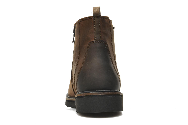 Boots en enkellaarsjes Geox U CHESTER ABX U44T5D Bruin rechts