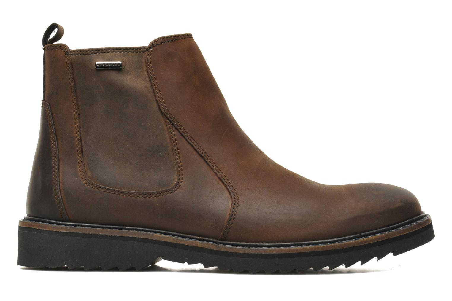 Ankle boots Geox U CHESTER ABX U44T5D Brown back view