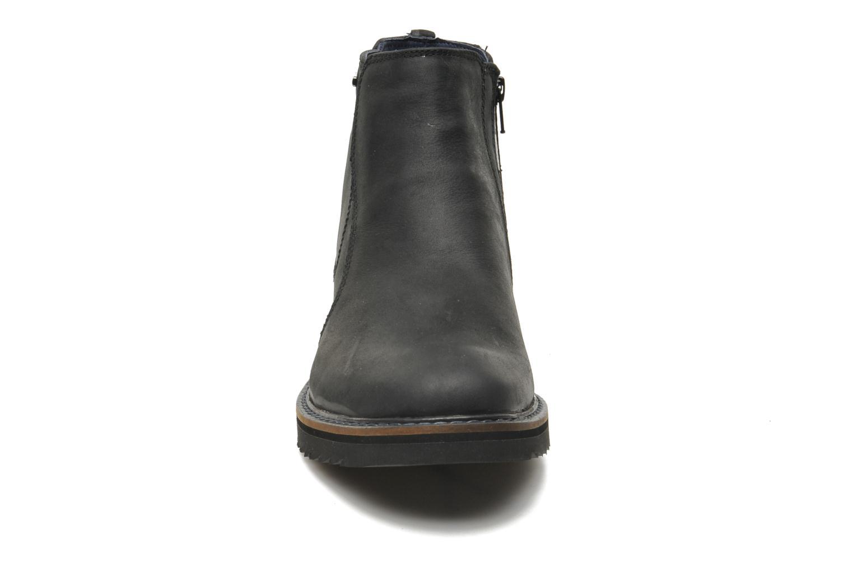Bottines et boots Geox U CHESTER ABX U44T5D Noir vue portées chaussures