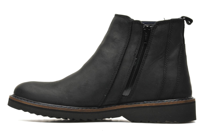 Bottines et boots Geox U CHESTER ABX U44T5D Noir vue face