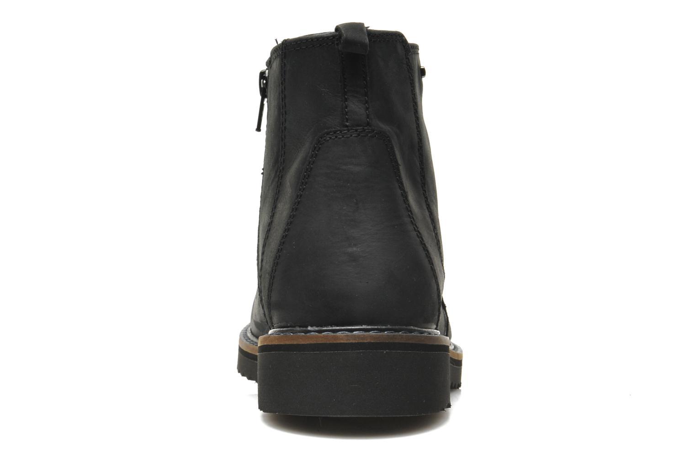 Bottines et boots Geox U CHESTER ABX U44T5D Noir vue droite