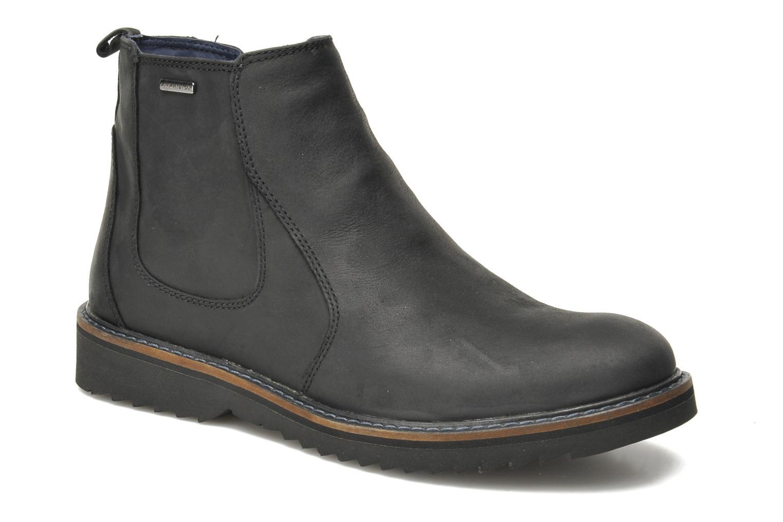 Bottines et boots Geox U CHESTER ABX U44T5D Noir vue détail/paire