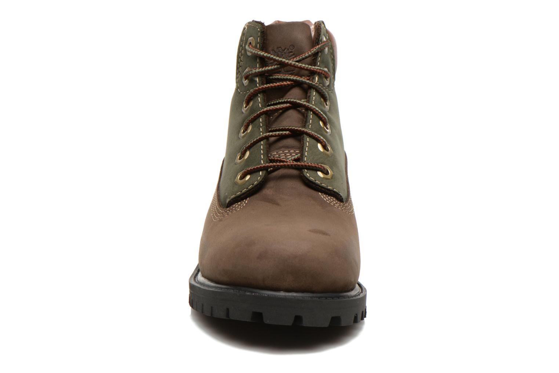 Bottines et boots Timberland 6 In Premium WP Boot Marron vue portées chaussures