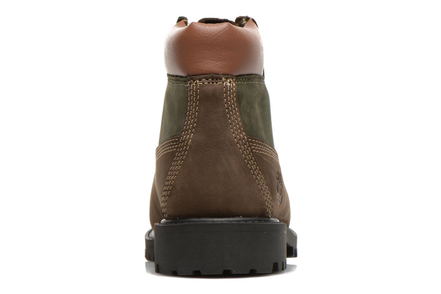 Botines  Timberland 6 In Premium WP Boot Marrón vista lateral derecha