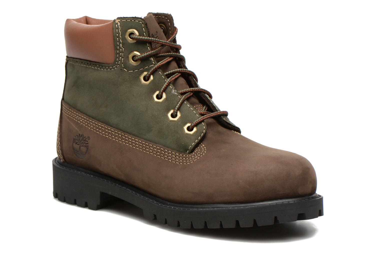 Bottines et boots Timberland 6 In Premium WP Boot Marron vue détail/paire