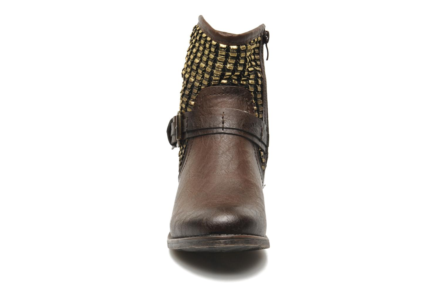 Boots en enkellaarsjes Molly Bracken Ebony Bruin model