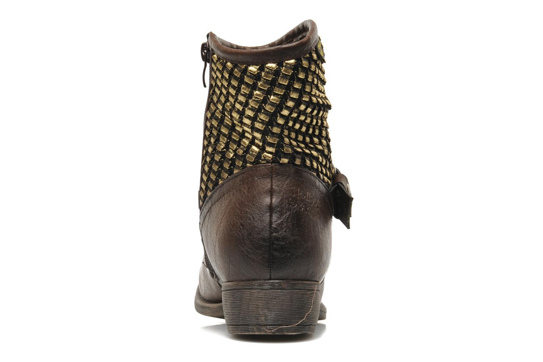 Boots en enkellaarsjes Molly Bracken Ebony Bruin rechts