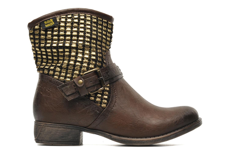 Boots en enkellaarsjes Molly Bracken Ebony Bruin achterkant
