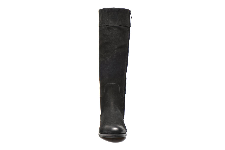 Bottes Geox D DALYA B D34G4B Noir vue portées chaussures