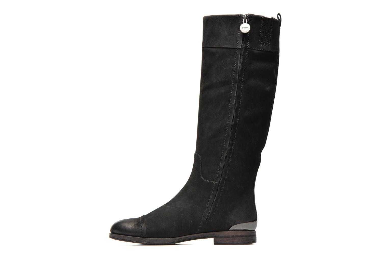 Boots & wellies Geox D DALYA B D34G4B Black front view