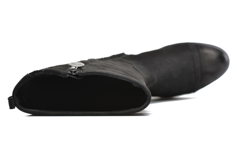 Stiefel Geox D DALYA B D34G4B schwarz ansicht von links