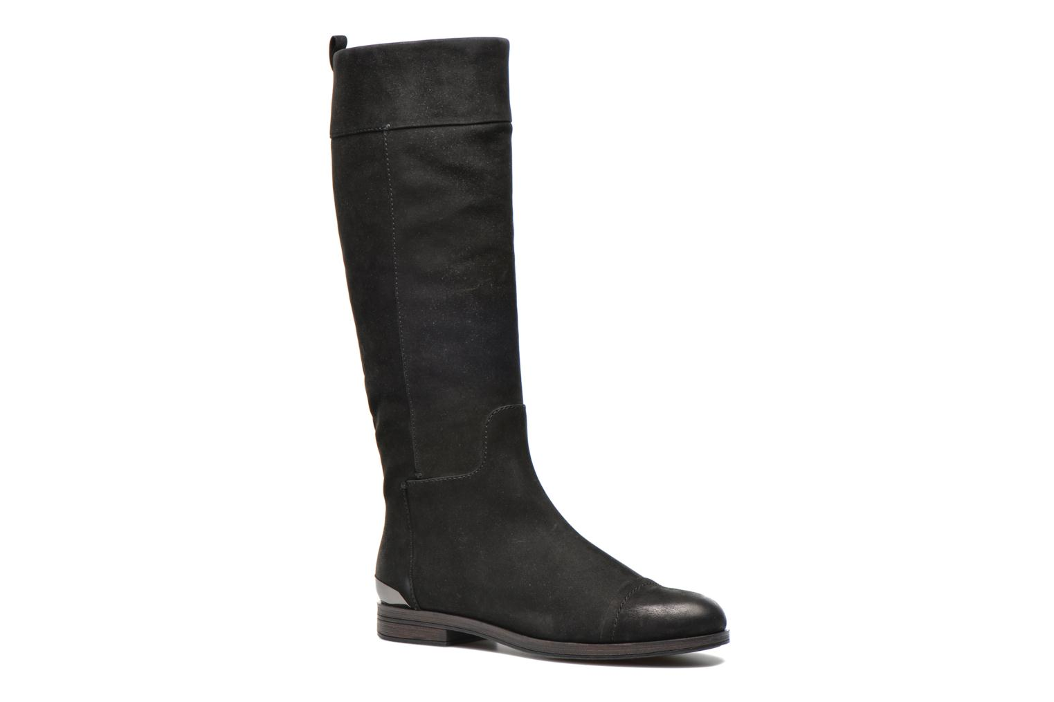 Boots & wellies Geox D DALYA B D34G4B Black detailed view/ Pair view