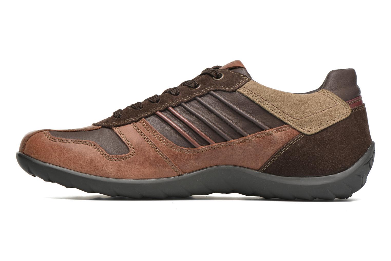 Sneakers Geox U PAVEL A U44P7A Bruin voorkant