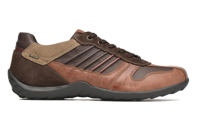 Sneakers Geox U PAVEL A U44P7A Bruin achterkant