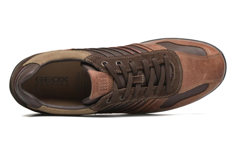 Sneakers Geox U PAVEL A U44P7A Bruin links