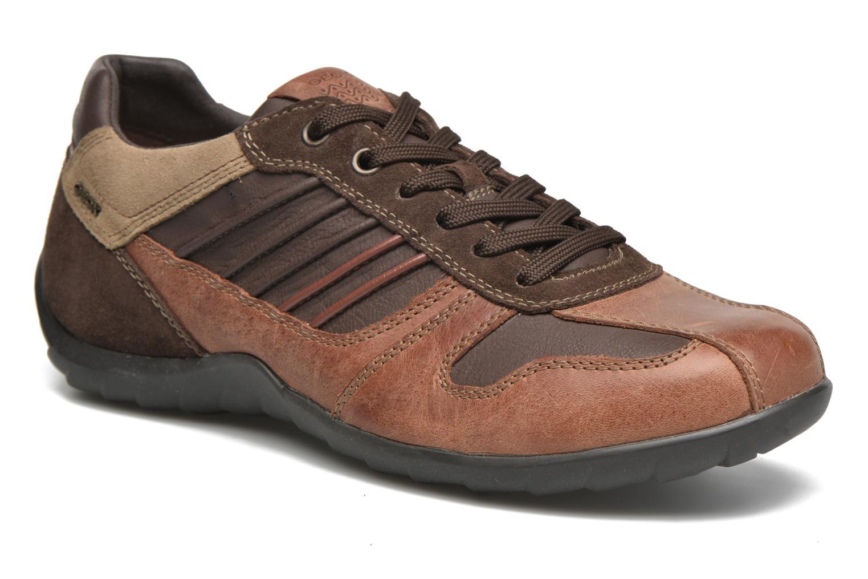 U PAVEL A U44P7A browncotto/dk brown