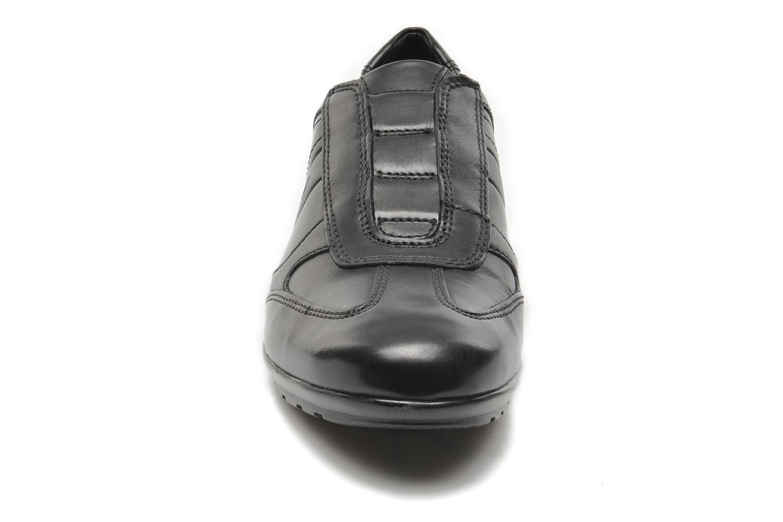 Baskets Geox U SYMBOL L U34A5L Noir vue portées chaussures