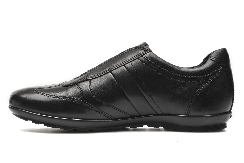 Sneakers Geox U SYMBOL L U34A5L Svart bild från framsidan