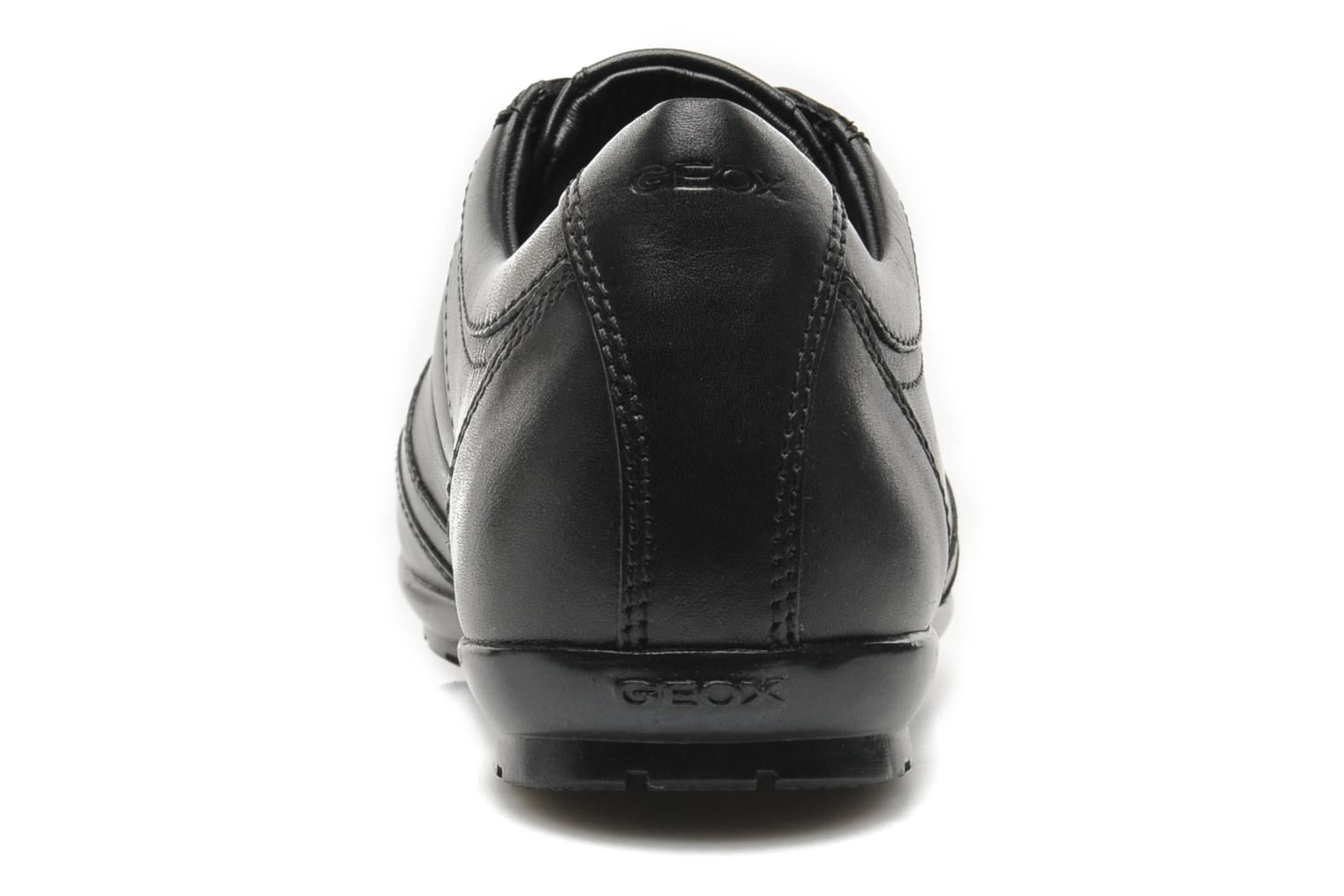 Trainers Geox U SYMBOL L U34A5L Black view from the right