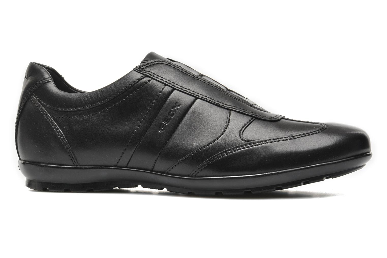Sneakers Geox U SYMBOL L U34A5L Zwart achterkant