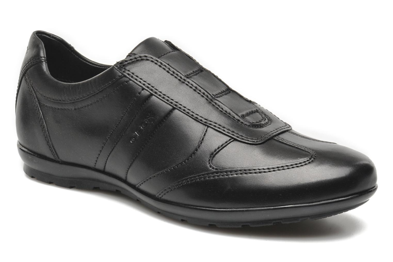 Sneakers Geox U SYMBOL L U34A5L Zwart detail