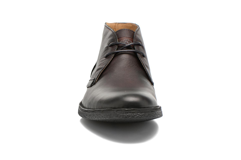 Chaussures à lacets Kickers Mistic Noir vue portées chaussures
