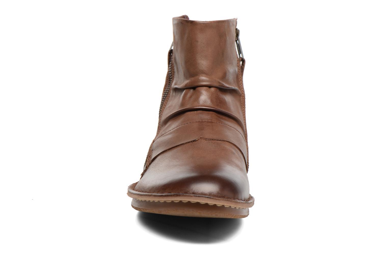 Bottines et boots Kickers Waouh Marron vue portées chaussures