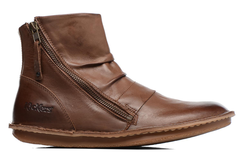 Bottines et boots Kickers Waouh Marron vue derrière