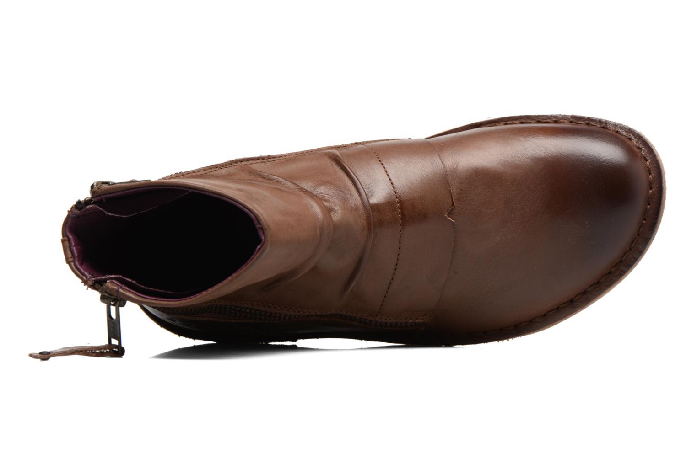 Bottines et boots Kickers Waouh Marron vue gauche
