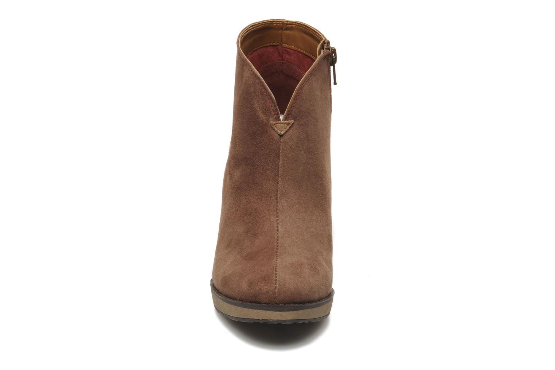 Bottines et boots Desigual Monada Marron vue portées chaussures