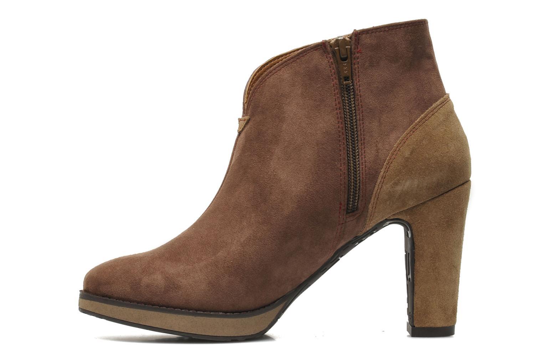 Bottines et boots Desigual Monada Marron vue face
