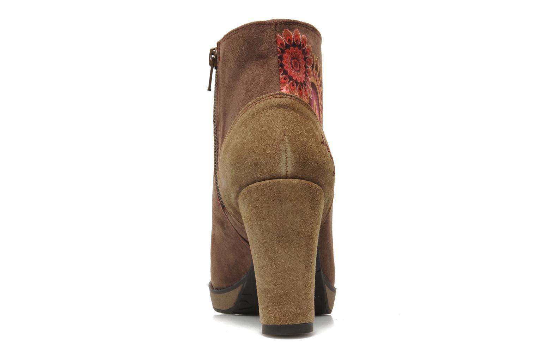 Bottines et boots Desigual Monada Marron vue droite